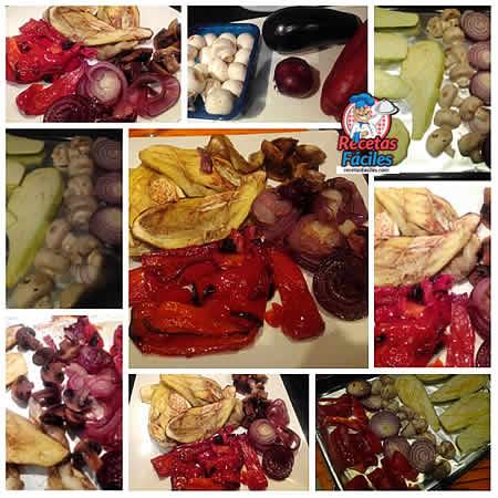 Recetas Fáciles Verduras Asadas al Horno