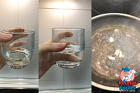vino agua ajillo