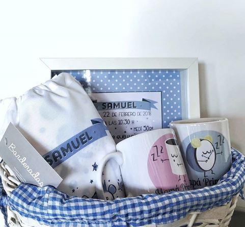 cesta de nacimiento hecha por Barderadas