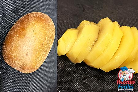 kiwi amarillo cortado