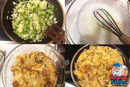 pasos para hacer tortilla de patatas